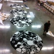 TRIO printing the carpets for Halo Awards