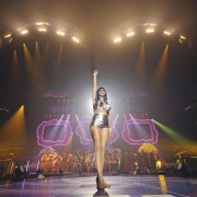 Katy Perry performing in her California Dreamin' tour - on TRIO flooring