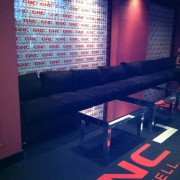 TRIO printed carpet for the GNC lounge at the ESPYs pre-party