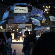 """Disney's Epic Mickey 2 - TRIO manufactured and printed """"dome"""" and archive units"""