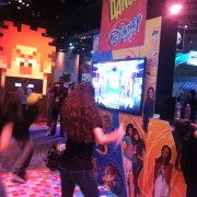 TRIO manufactured and skinned 'Just Dance' game kiosk