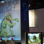 Disney's 'Where's my Water?' lounge at E3