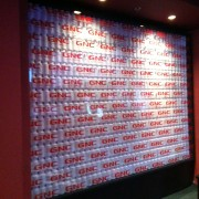 TRIO custom art installation, for 'GNC Lounge' at ESPYs pre-party, Belasco Theatre, Los Angeles