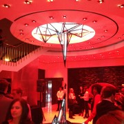 TRIO manufactured sculpture at Beck's Sapphire launch event in Chicago