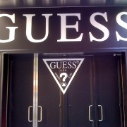 Guess Store Entrance