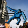 Handpainted, Universal City Walk Gorilla