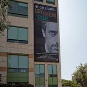 TRIO printed Hugh Laurie scrim on The Pinnacle in Burbank