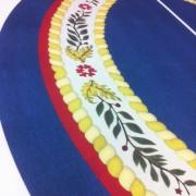 TRIO printed carpet