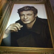 The Mentalist in Gold Painted Sculpted Frame