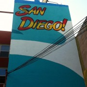 TRIO hand-painted wall for the City of San Diego