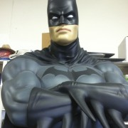 TRIO's hand-painted touch ups on Batman from the Warner Bros. archive