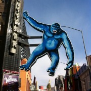 TRIO hand-painted King Kong at Universal Citywalk, Los Angeles