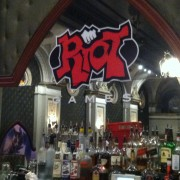 TRIO printed graphics at Club Ruby Skye in San Francisco with Riot Games