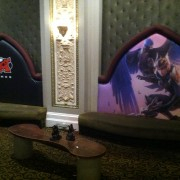 TRIO printed upholstery at Riot Games recruiting event
