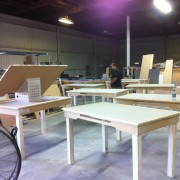 Animation Desks in process at TRIO - for the Epic Mickey 2 area