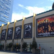 TRIO printed Expendables 2 billboards at LA Live