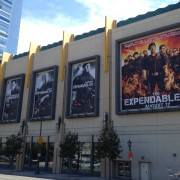 Expendables 2 campaign at LA Live, Los Angeles