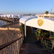TRIO manufactured booth for Warner Bros. MIP COM in Cannes, France