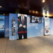TRIO manufactured booth and graphics for Warner Bros. MIP COM