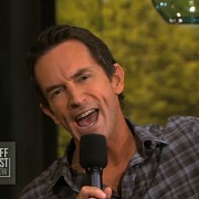 TRIO printed backdrops - on set - Jeff Probst Show