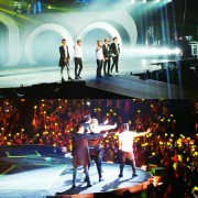 Korean band Big Bang on their International tour