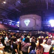 TRIO printed drop for the pre-show of Big Bang in Manila