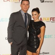 TRIO step and repeat graphics - Magic Mike - Channing and Jenna Dewan