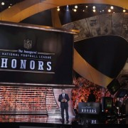 NFL Honors Awards - TRIO's CNC routed panels, with printed graphics, arching over stage