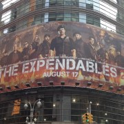 Expendables 2 in Times Square, New York