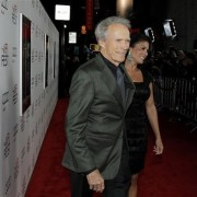 TRIO printed step-and-repeat graphics at AFI Film Festival - Clint Eastwood