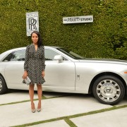 TRIO CNC routed and hand painted signs and Kerry Washington - Variety Studio: Rolls Royce Event, 2012