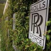 TRIO CNC routed and hand painted signs - Variety Studio: Rolls Royce Event, 2012