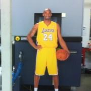 TRIO's Life Sized Kobe Bryant Cardboard Cutout