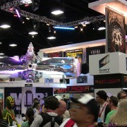 TRIO manufactured Sony booth at Comic Con