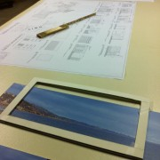Designing the printed backdrop for 'Malibu Country'