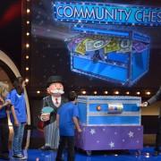 TRIO life-sized 'Monopoly' game pieces - Family Game Night