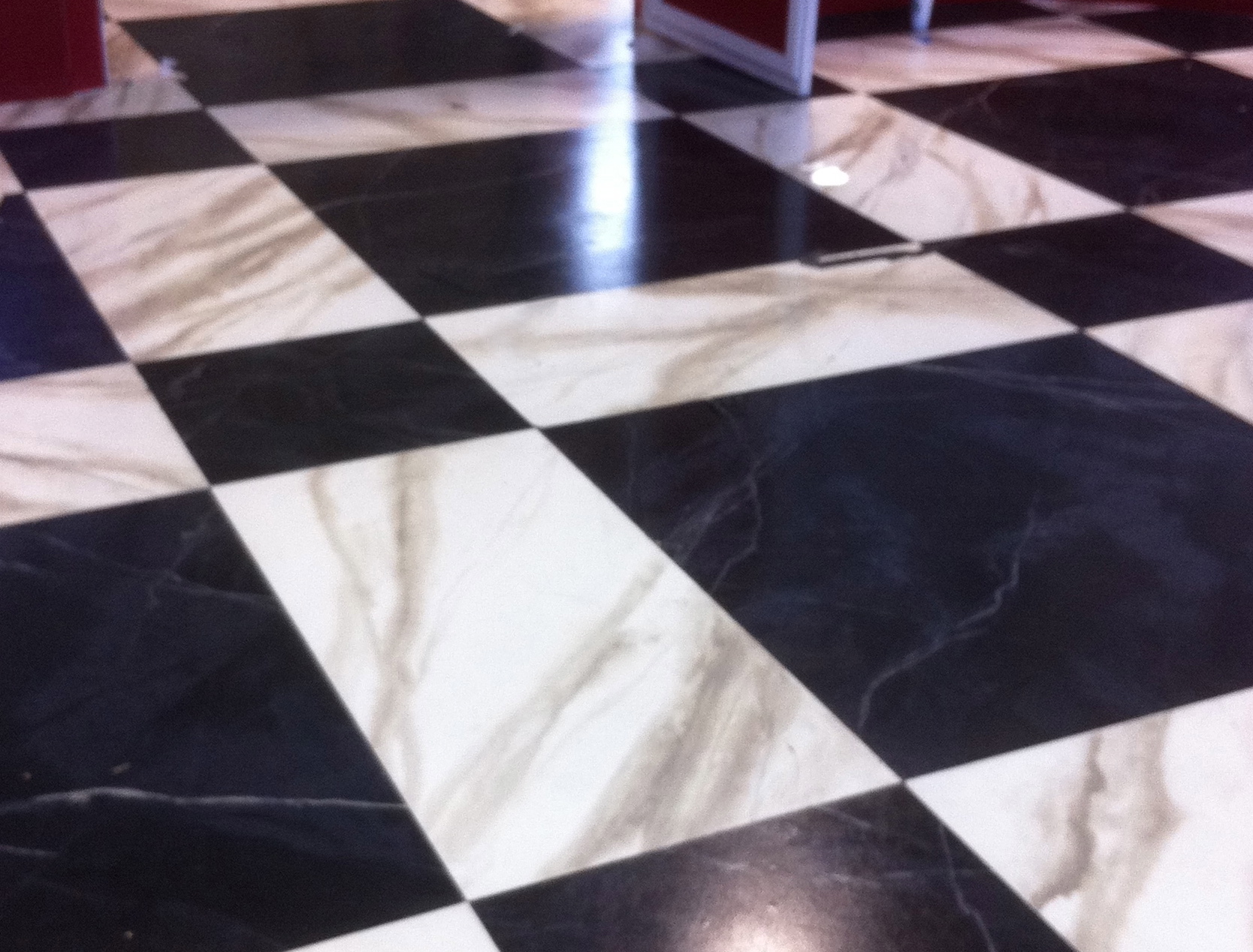 Artificial Marble Flooring : Painted faux marble « trio