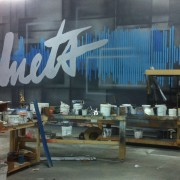 TRIO hand-painted backdrop, flooring for Duets with Kelly Clarkson and Josh Legend