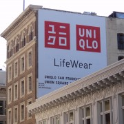 TRIO's new grande-format UNIQLO print installed in San Francisco