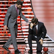 "Alec Baldwin ""Tebowing"" at the NFL Honors 2012"
