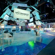 Epic Mickey 2 area at Disney E3