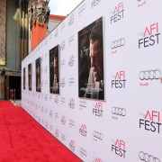 TRIO printed step & repeat at the AFI Film Fest premiere of J Edgar