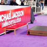 Michael Jackson Hand and Footprint Ceremony