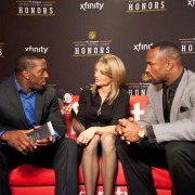 Interviews during NFL Honors - TRIO printed graphics